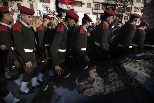 Египетские военные пригрозили запретом акций протеста