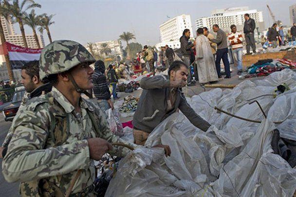 Египет празднует свободу от режима Хосни Мубарака
