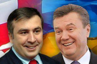 Украина и Грузия договариваются о встрече Януковича с Саакашвили