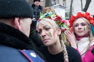 FEMEN: у міліціонерів до нас особлива симпатія
