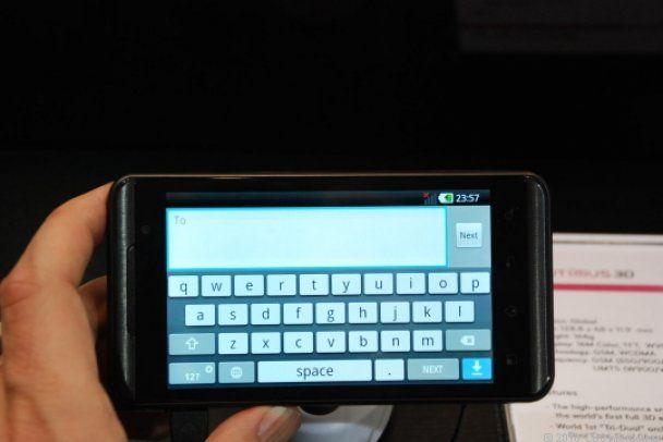 LG выпустил первые в мире 3D-смартфон и планшет (видео)