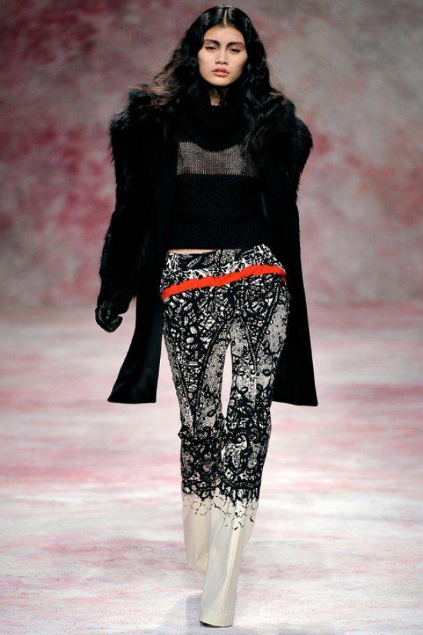 Коллекция Prabal Gurung на Неделе моды в Нью-Йорке
