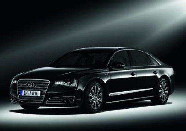 Audi представила авто з вбудованими мигалками для перших осіб держави