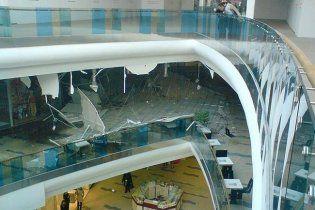 Под обвалами потолка в Sky Mall пострадали две женщины