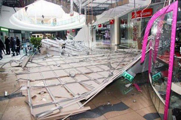 Торговый центр Sky Mall, в котором потолок упал на людей, закрыли