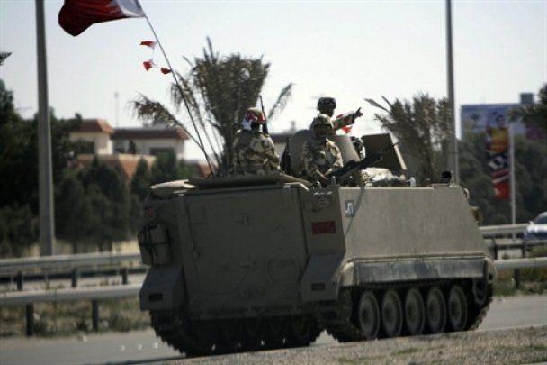 З головної площі столиці Бахрейну вивели танки