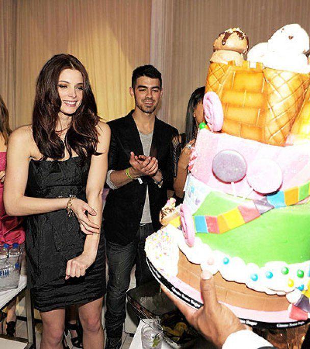 Ешлі Грін відсвяткувала день народження у Лас-Вегасі
