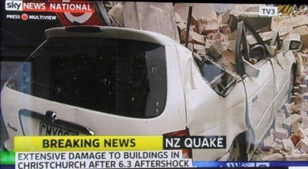 65 погибших вследствие мощного землетрясения в Новой Зеландии