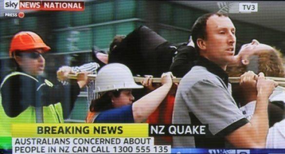 Землетрус у Новій Зеландії