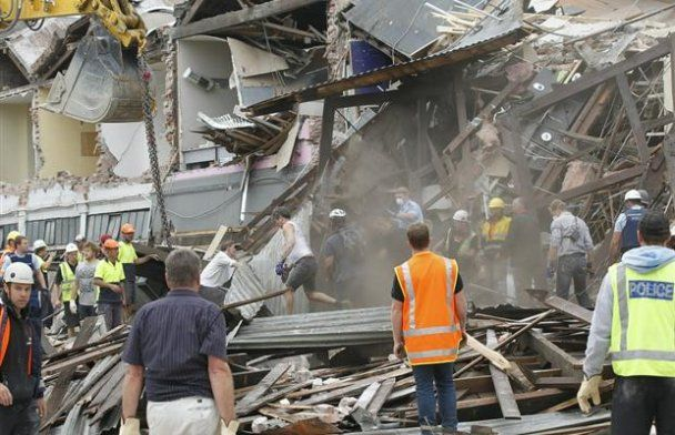 65 загиблих унаслідок потужного землетрусу у Новій Зеландії
