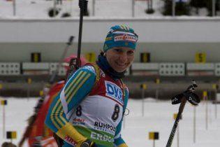 Украинка выиграла серебро на чемпионате Европы по биатлону