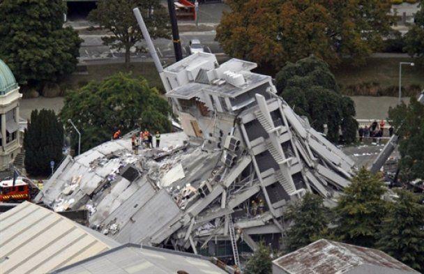 Число жертв землетрусу у Новій Зеландії зросло до 75 осіб