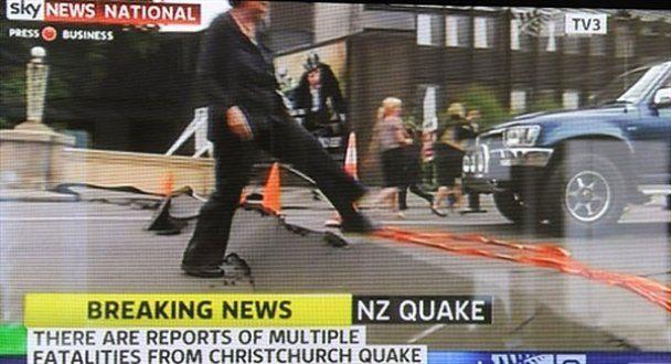 В Новой Зеландии произошли два мощных землетрясения