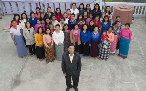 В Індії знайшли селянина, у якого 39 дружин та 94 дитини
