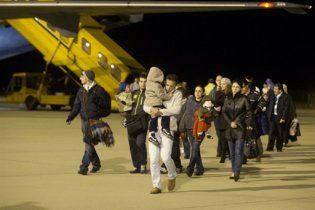 Российским самолетом из Ливии эвакуированы 20 украинцев