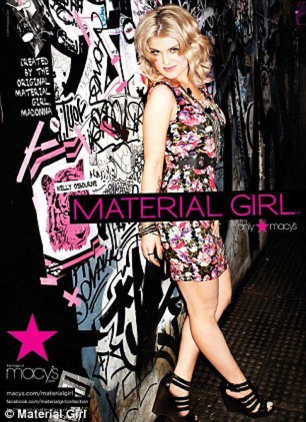 Келли Осборн рекламирует одежду Мадонны