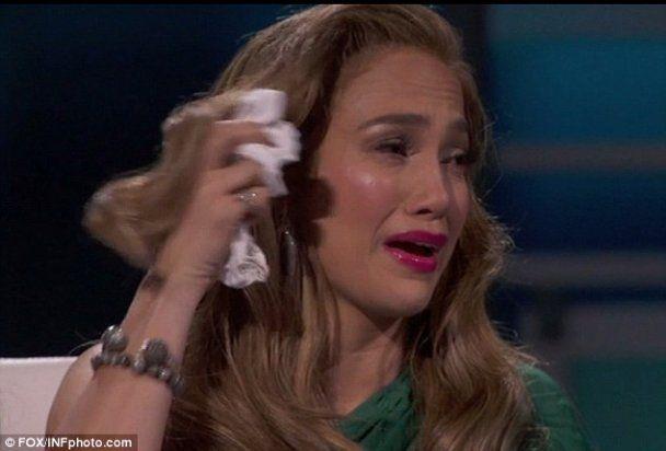 Джей Ло розридалась на зйомках телешоу