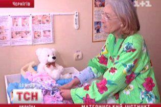 У Чернігові жінка встановила рекорд, народивши дитину у 66 років
