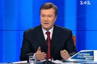 Янукович о цене на российский газ: бьет не в сердце, но близко