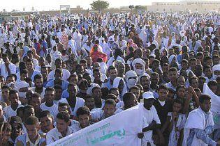 Антиурядові протести докотилися до Мавританії
