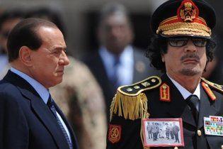 Берлусконі: Каддафі втратив контроль над Лівією