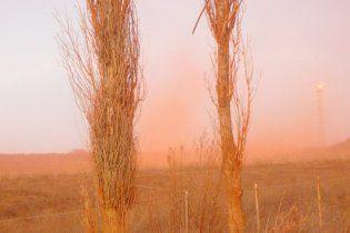 Ядовитая красная пыль накрыла Николаевщину