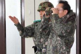 Южная Корея провела ответный артобстрел КНДР