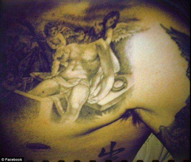 Девід Бекхем показав нове татуювання