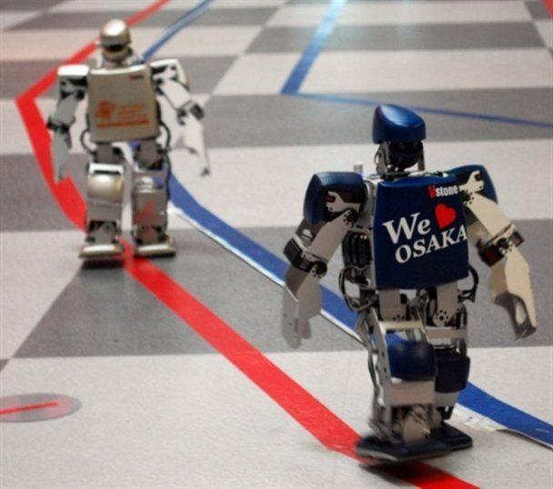 В Японии провели первый в мире марафон роботов