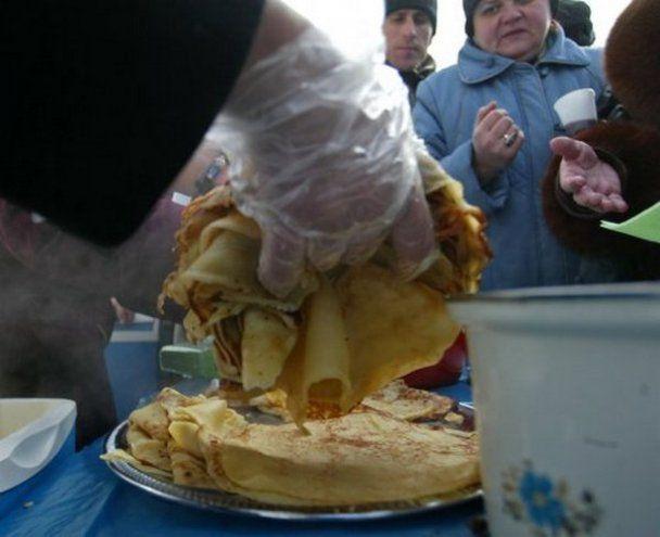 Розпочалося святкування широкої Масляної