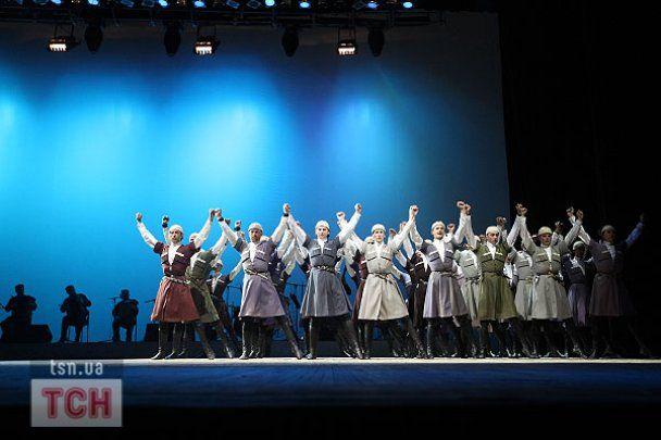 Балет Сухішвілі привіз до Києва 100 артистів