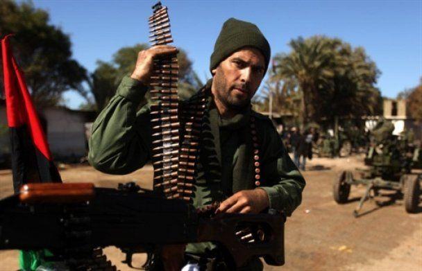 Из-за Каддафи в революционной Ливии погибли уже шесть тысяч человек