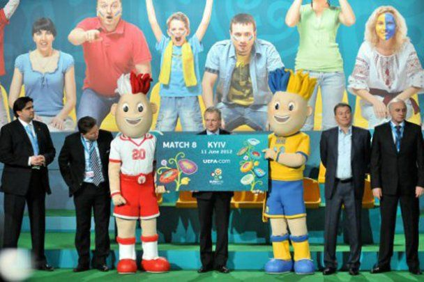 В Украине началась продажа билетов на матчи Евро-2012