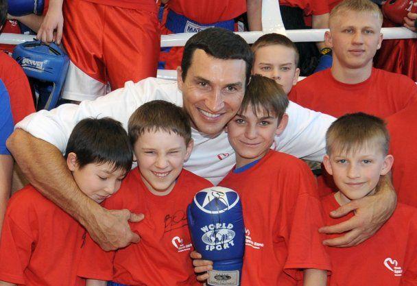 Володимир Кличко провів майстер-клас для початківців
