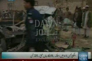 Дев'ять людей загинули під час вибуху біля поліцейської дільниці в Пакистані