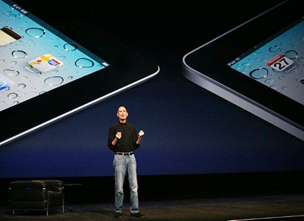 Стів Джобс презентував iPad другого покоління