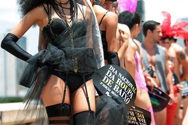 В Бразилии отметили национальный День белья