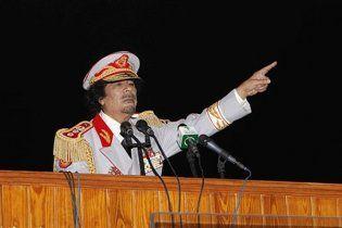 Каддафи предложил НАТО нефть в обмен на мир