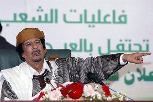 Каддафи назвал Саркози сумасшедшим, а Берлускони предателем