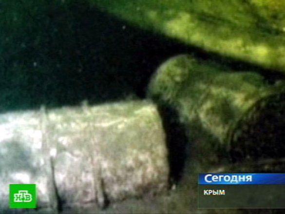 Бочки з отрутою, Чорне море