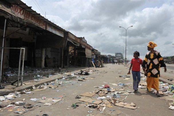 В Кот-д'Ивуаре полиция расстреляла женский марш