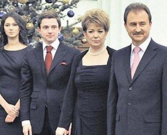Попов з дружиною, Довгий з дружиною