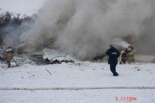 Знайдено бортові самописці російського літака Ан-148