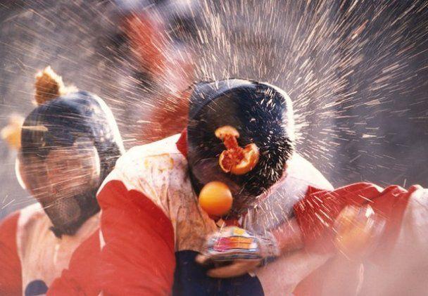 В Італії стартувала апельсинова битва