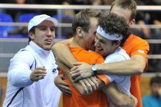 Украина проиграла Нидерландам на Кубке Дэвиса