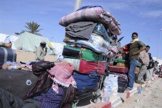 У берегов Италии затонуло судно с ливийскими беженцами