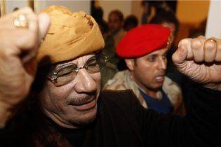 Влада Лівії спростувала чутки про поранення Каддафі: на ньому немає ні подряпини