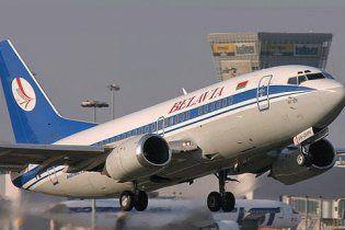 В небе над Киевом загорелся пассажирский самолет