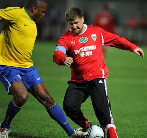 Кадиров програв матч зіркам світового футболу