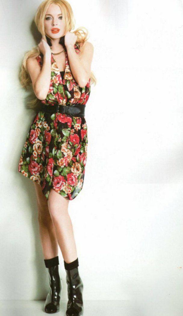 Линдсей Лохан снялась для японского журнала